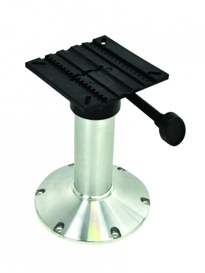 SEAT PEDESTAL 300MM FIXED HEIGHT ALLOY BASE