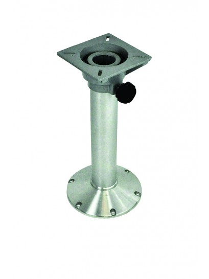 SEAT PEDESTAL 600MM FIXED HEIGHT ALLOY BASE WITH ALLOY SEAT BASE