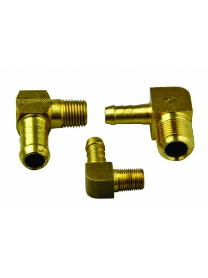 BRASS ELBOWS MALE THREAD TO HOSE TAIL