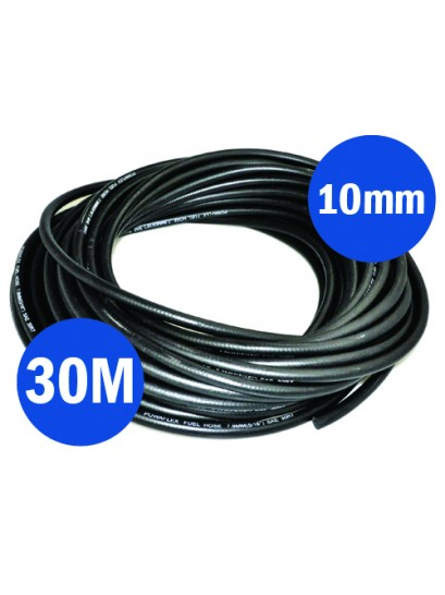 FUEL HOSE REINFORCED 10MM X 30M
