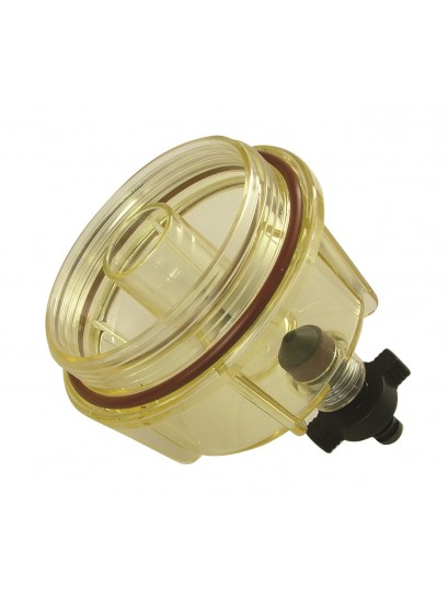 FUEL FILTER BOWL CLEAR WITH VITON SEAL - USE WITH 3293, 3297, 3296