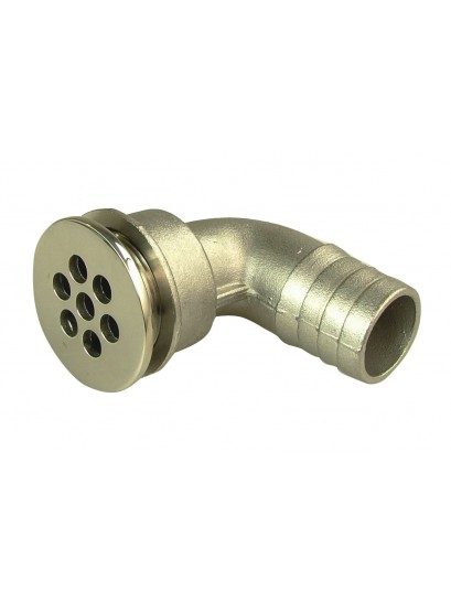 DRAIN GATE SS 90 DEGREE 1""