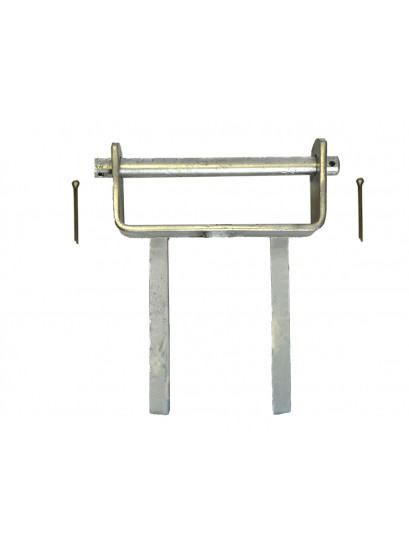 Roller Bracket Assemblies - Double Stem 12""