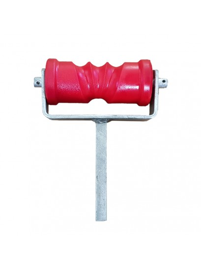 "Self Centering Roller Assembly 6"" - RED"