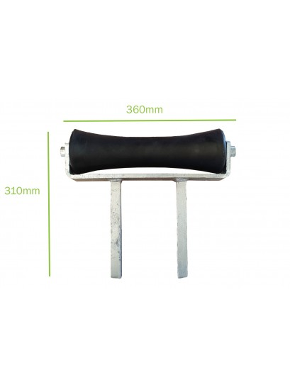 """12"""" Concave Roller Assembly"""