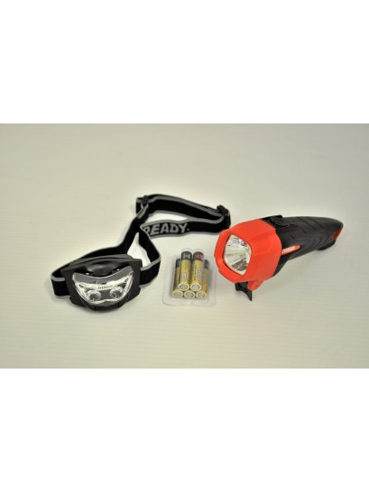 EVEREADY LED COMBO: TORCH AND HEADLAMP