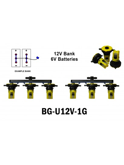 6V battery Watering kits  - 12V systems