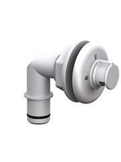 Spray Head Thru-Hull - Elbow 19mm