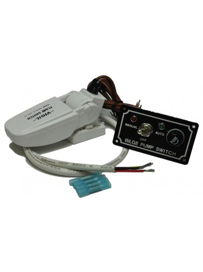 Automated Bilge Pump Upgrade Kit