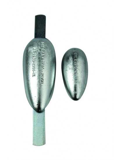 Tear Drop Anodes -  Strapped & Un-Strapped