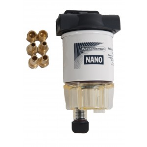 WATERSCREEN FUEL FILTER NANO ASSEMBLY W/ BOWL