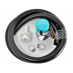 1100GPH Bilge Pump Kit