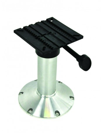SEAT PEDESTAL 700MM FIXED HEIGHT ALLOY BASE