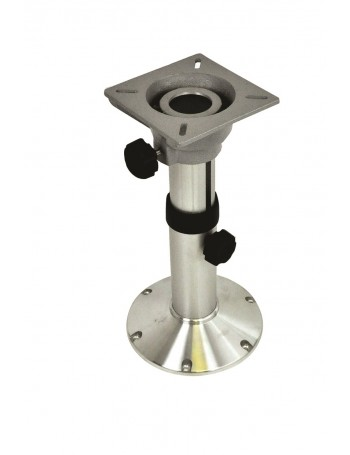 SEAT PEDESTAL ADJ 340-510MM ALLOY BASE WITH ALLOY SEAT BASE