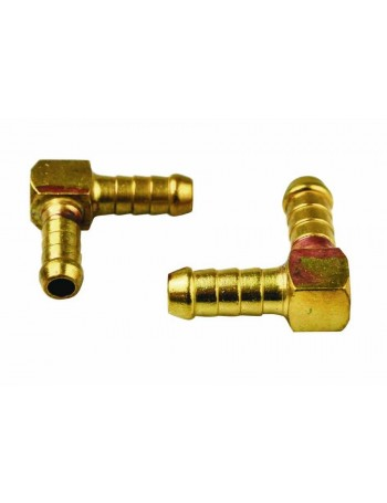 BRASS ELBOWS BARB TO BARB