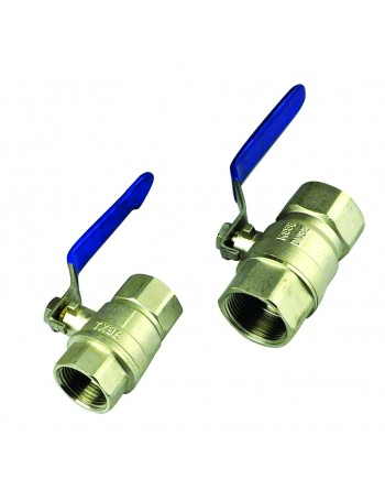 BRASS BALL VALVES WITH STAINLESS STEEL HANDLE