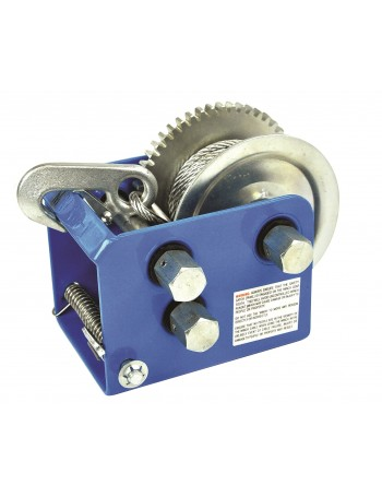 WINCHES W/ 10:1- 5:1 & 1:1 GEAR RATIO