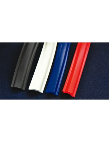 GUNWALE RUBBER COLOURED INSERT per metre