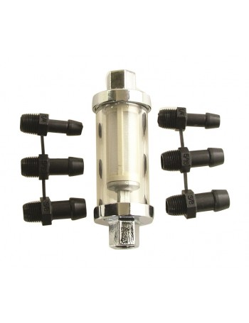INLINE FUEL FILTER REMOVABLE ELEMENT