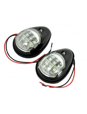 LED Navigation Side Lights Black