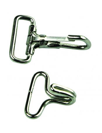 CANOPY FITTINGS STAINLESS STEEL WEBBING HOOKS