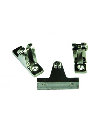 CANOPY FITTINGS STAINLESS STEEL DECK MOUNTS