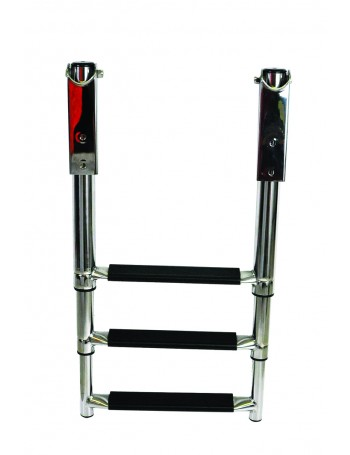 TELESCOPIC STAINLESS STEEL LADDERS