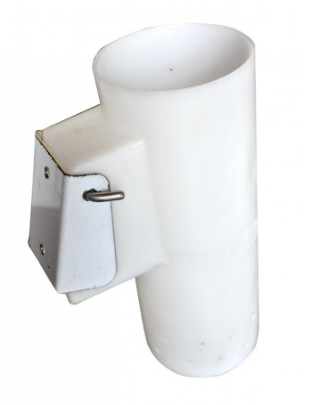 Berley Bucket With Stainless Steel Transom Mount