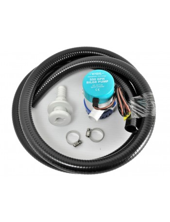 550GPH Bilge Pump Kit