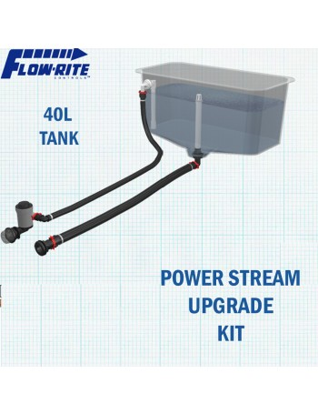 Flowrite Livewell 40L Assembly W/ Powerstream Upgrade
