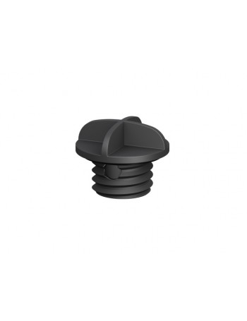 Screw-in Drain Plug - Black 28mm
