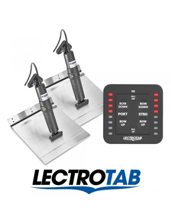 LECTROTAB KITS ALLOY PLATE & ONE TOUCH CONTROLLER