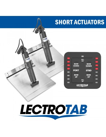 LECTROTAB KITS ALLOY & ONE TOUCH CONTROL - SHORT ACTUATORS