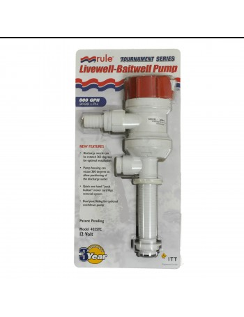 Rule 800 GPH Straight Pump