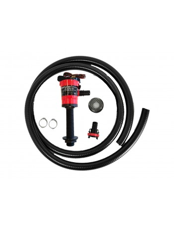 Johnson Aerator Pump Kit 750GPH Straight