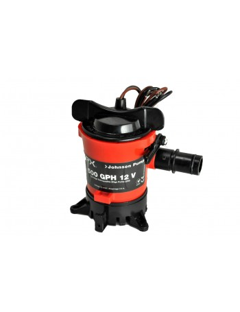 500GPH JOHNSON BILGE PUMP 12 VOLT COMPLETE - CARTRIDGE STYLE