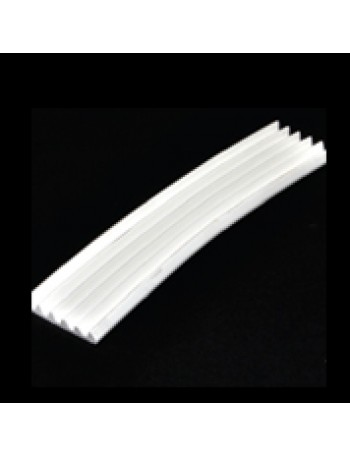 TRAILER STRIP FLEXIBLE WHITE P/M