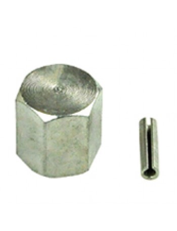 WINCH HEX NUT & ROLL PIN